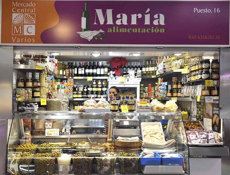productos gourmet, alimentación María
